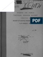 WWII 8th Air Force Report