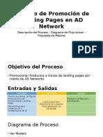 Proceso de Promoción de Landing Pages en AD
