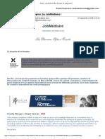 Newsletter Jobmediaire
