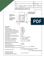 RC Beam Torsion Design (BS8110)