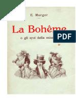 La Bohème - Murger