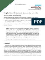 Antibiotics - Drug Resistance in MTB