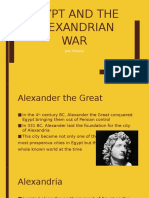 egypt and the alexandrian war