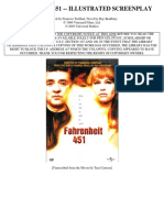 Roteiro Fahrenheit 451 Screenplay in ENGLISH