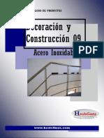 Catalogo Decoracion y Construccion Acero Inox 09