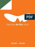 festival do Rio 2015 catálogo