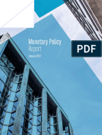 January 2017 Monetary Policy Report