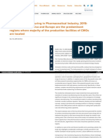 Contract Manufacturing in Pharmaceutical Industry, 2015- 2025 Taj Pharmaceuticals, News