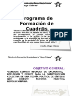 Programa Cátedra Hugo Chávez Con Últimos Acuerdos
