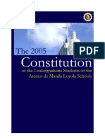 2005 Constitution - Annotated