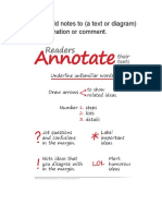 annotate and analyze