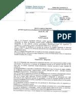 Regulament Privind Organizarea Si Desfasurarea Olimpiadei de Limba Si Literatura Romana Liceu