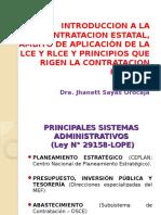 Introduccion a La Contratacion Estatal y Principios Que Rigen La Contratacion Publica