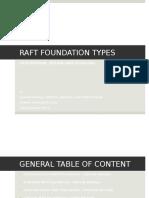 Slab Raft Foundation Presentation
