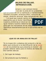 Fallas Clase 5