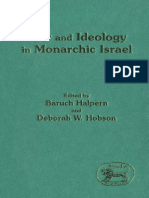Baruch Halpern, Deborah W. Hobson Law and Ideology in Monarchic Israel JSOT Supplement Series 1992.pdf