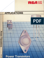 Rca Power Transistor Applications Manual