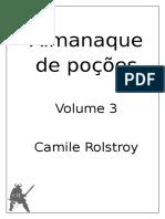 Almanaque de Poções Volume III