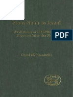 Carol M. Kaminski From Noah to Israel Realization of the Primaeval Blessing After the Flood JSOT Supplement 2005.pdf