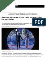 Razones Para Amar 'La La Land' Aunque Odies Los Musicales
