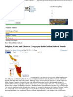 Religion, Caste, And Electoral Geography in the Indian State of Kerala _ GeoCurrents