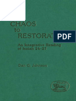 Dan G. Johnson From Chaos to Restoration An Integrative Reading of Isaiah 24-27 JSOT Supplement 1988.pdf