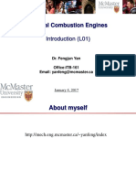 Internal Combustion Engines Lecture 1