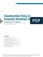 103A Construction Delay and Forensic Schedule Analysis