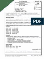 [DIN ISO 965-1-1999-11] -- Metrisches ISO-Gewinde Allgemeiner Anwendung - Toleranzen - Teil 1- Prinzipien Und Grundlagen (ISO 965-1-1998)