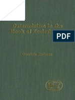 Dominic Rudman Determinism in the Book of Ecclesiastes JSOT Supplement 2001.pdf