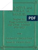 Edited by David M. Gunn, Translated by David E. Orton Narrative and Novella in Samuel Studies by Hugo Gressmann and Other Scholars 1906-1923 JSOT Supplement 1991.pdf