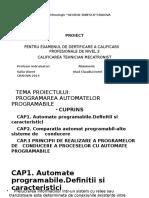 Programarea Automatelor Programabile