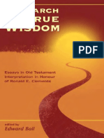 Edward Ball In Search of True Wisdom Essays in Old Testament Interpretation in Honour of Ronals E. Clements JSOT Supplement 1999.pdf