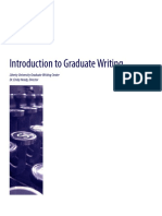Graduate Writing Guide