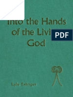 Eslinger Into the Hands of the Living God 1990.pdf