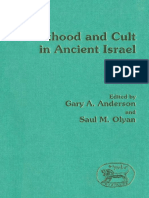 Gary A. Anderson, Saul M. Olyan Priesthood and Cult in Ancient Israel JSOT Supplement Series 1991.pdf