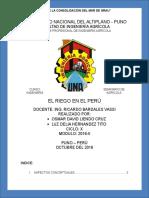 Riego en el Peru