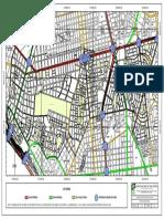 Plano Del Sistema Vial Metropolitano de Lima