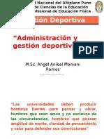 Administración y Gestión Deportiva