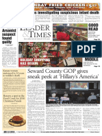 7.Seward County GOP Gives Sneak Peek at 'Hillary's America'.Robert
