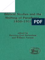 Henning Graf Reventlow, William Farmer Biblical Studies and the Shifting of Paradigms, 1850-1914 JSOT Supplement 1995.pdf