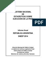 Informe Sneep Argentina 2014