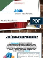 Que Es Psicopedagogia Presentacion Crisy