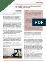 SEI PB 2017 US Oil and Gas Production Subsidies