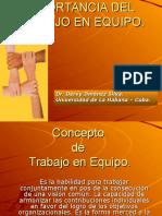 01-La Importancia Del Trabajo en Equipo.