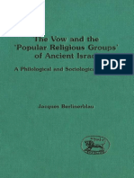 Jacques Berlinerblau The Vow and the Popular Religious Groups of Ancient Israel A Philological and Sociological Inquiry JSOT Supplement Series  1996.pdf