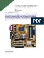 HP Pavilion Presario Series PTGD.doc