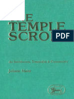Johann Maier The Temple Scroll An Introduction, Translation and Commentary JSOT Supplement Series  1985.pdf