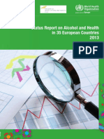 Status Report on Alcohol and Health in 35 European Countries