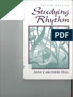 Studying Rhythm 2nd Edtn